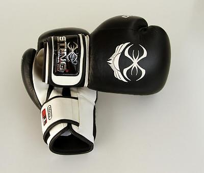 Premium Sting Titan Professional Leather Boxing Gloves |16 OZ | NEW! RRP $99!