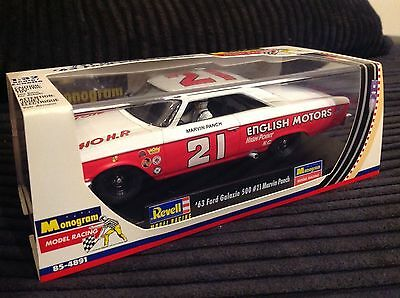 Revell Monogram '63 Ford Galaxie 500 #21 Marvin Panch Vintage Nascar Boxed