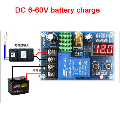 6-60v Digital Lead-acid battery charge control module protection switch