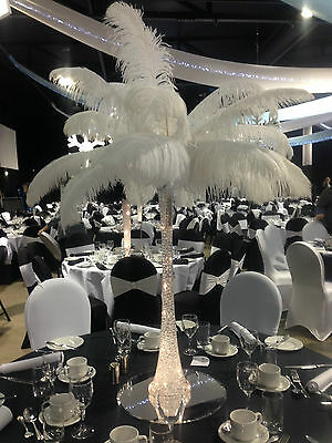 """LARGE OSTRICH FEATHER 22"""" ( 55cm-60cm )Wedding Table Home Decoration"""