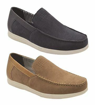 New Mens Grosby Dillon Comfortable  Slippers Moccasins Shoes