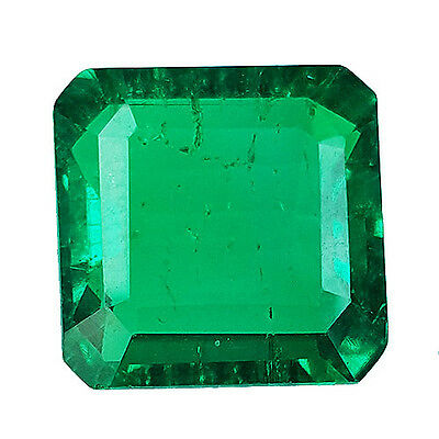 5.80 Ct Nice Lab Created Biron Colombian Green Color Gemstone