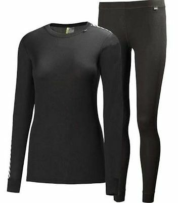 Helly Hansen Comfort Dry Women's 2-Pack Thermal Base Layer Winter New