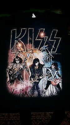 KISS - Unmasked Era (Sleeveless shirt), Mens : XL