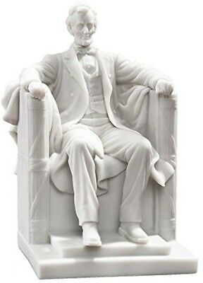 Design Toscano WU75764 Abraham Lincoln Memorial Bonded Marble Resin Statue