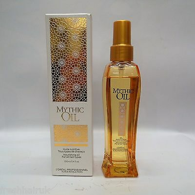 L'Oreal Professionnel Original Mythic Oil 100ml with free travel size hairspray