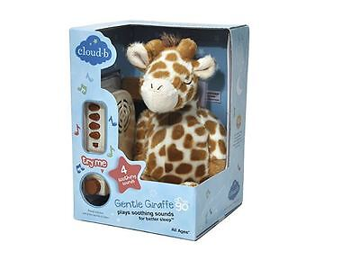 Cloud B Gentle Giraffe With 8 Soothing Sounds