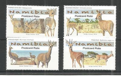 Namibia 2015 Small Antelopes Un/mm Nh Lot 1230A