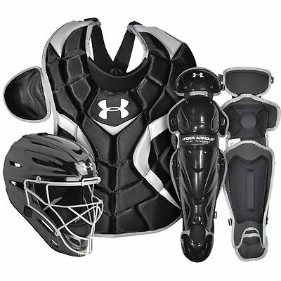 Under Armour Victory Series Youth Catchers Set UACK2-YVS Black