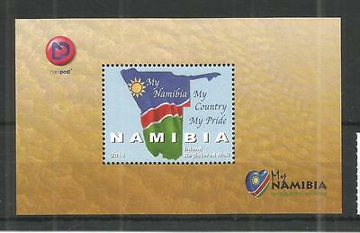Namibia 2014 My Pride Minisheet Sg,ms1237 Un/mm Nh Lot 1241A