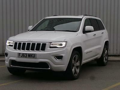 Jeep Grand Cherokee 3.0 Crd Overland 5Dr Auto - White