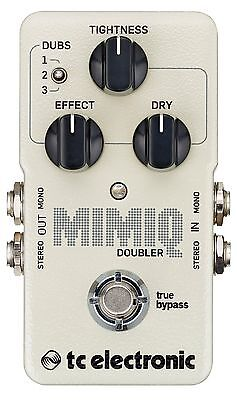 New TC Electronic Mimiq Doubler Guitar Effects Pedal!