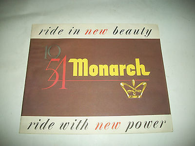 Rare Canadian 1954 Monarch Sales Brochure Clean  Cmystor4More