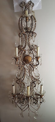 """Antique French Wall Sconce  48"""""""