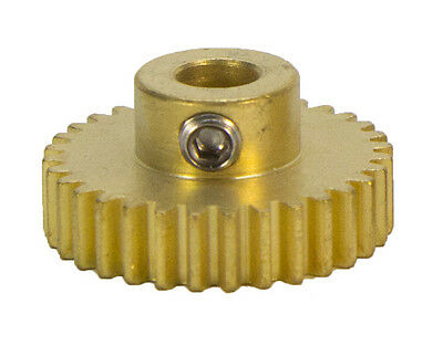 """32 Tooth, 32 Pitch, 1/4""""Bore Gearmotor Pinion Gear (#615254)"""