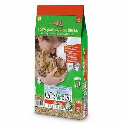 Cats Best OkoPlus Cat Litter 30Lt