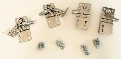 Lot of 2 pairs of Tilt Drawer hinges