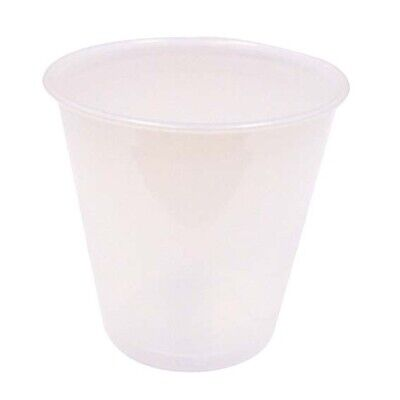 Solo Plastic Drinking Cup 104ml 100 Pieces per Sleeve 25 Sleeves per Carton