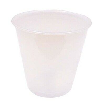 Solo Plastic Drinking Cup, 104ml, 100 per Sleeve, 25 Sleeves per Carton