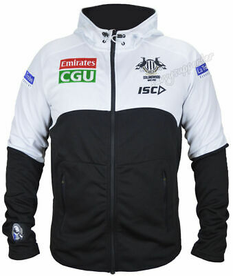 Collingwood Magpies 2017 AFL Workout Hoody Jacket Adults & Kids Available BNWT