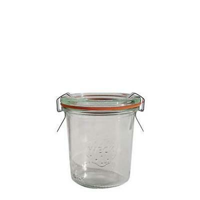 12x Mini Glass Serving Jar, 140mL, Weck, With Clips & Seals, Condiment / Sauce