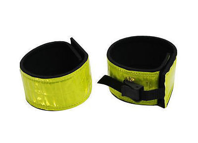 Showman Reflective Leg Band Wraps for Trail Riding Safety Traffic Horse Tack New