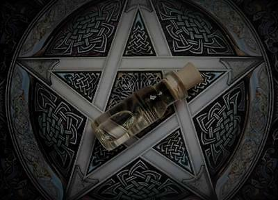 RUN DEVIL RUN Potion Ritual Oil Anointing Oil Protection Oil ~ Wicca Witchcraft