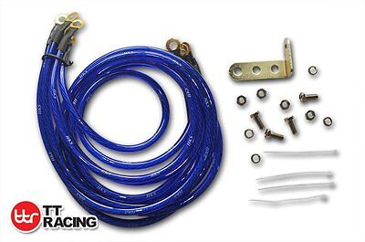 Blue HKS Super Earth Cable Wire Grounding Kit Performance Universal