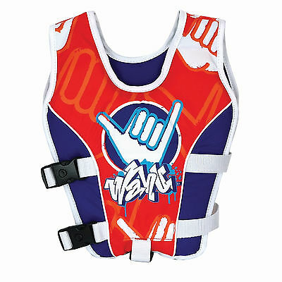 Wahu Swim Vest RED Size Small 15-25kg Age 2-3 yrs Swimming Aid Vest 2016/17 Desi