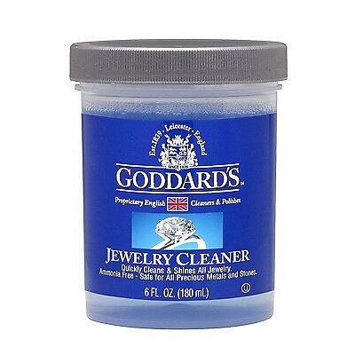 Goddards Jewellery Cleaner Care Kit 180ml - Instantly Cleanes all Jewellery