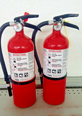 5lb Fire Extinguisher ABC Dry Chemical  - Kidde - Lot of 2 - Disposable