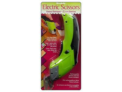 """Simplicity Electric Scissors """"Lime Green""""  ~ NEW"""