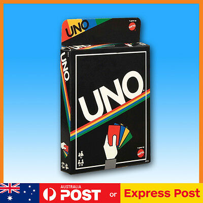UNO® CARD GAME – RETRO EDITION by Mattel