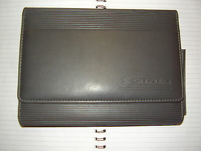 Genuine Suzuki Handbook Wallet.