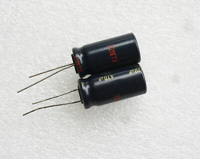 55 pcs Panasonic FC Series Electrolytic Capacitors 50V 470uF