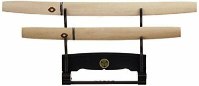 Mini Japanese sword Shirasaya large and small, with a hanging stand 250