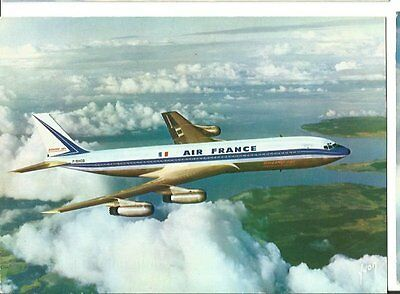 Cp Avion Boeing 707 Jet Intercontinental Air France F-Bhsb