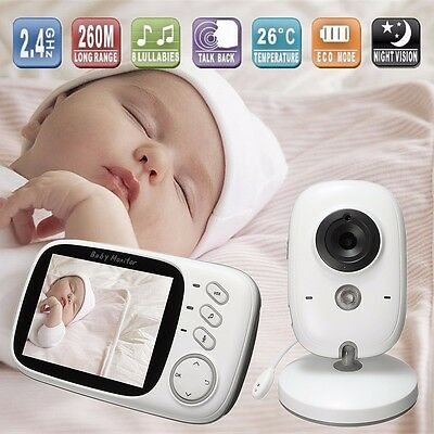 3.2 inch Wireless Digital Baby Monitor Home Camera Secue Talk Video Night Vision
