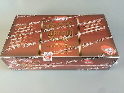 2016 AFL Select Certified Premium Collector Cards (Sealed Box 36 Packs)