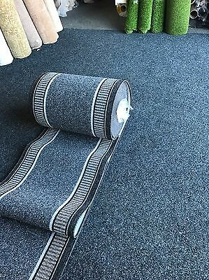 Made To Measure Grey  Carpet Runner For Hallway Kitchen Stairs Etc L😍😍k