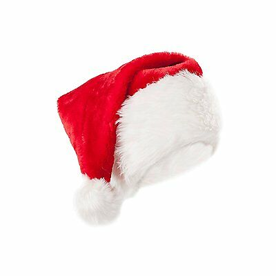Luxury Deluxe Quality Fluffy Christmas Santa Claus Fancy Dress Hat 134