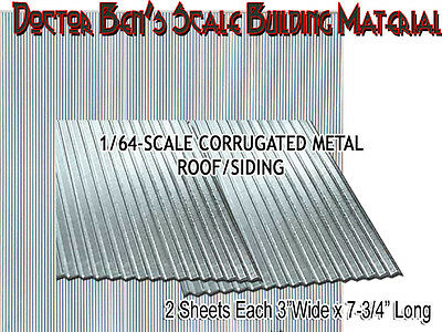 CORRUGATED ROOFING/SIDING Metal Doctor Ben's Scale Consortium Sn3/Sn2/1;64