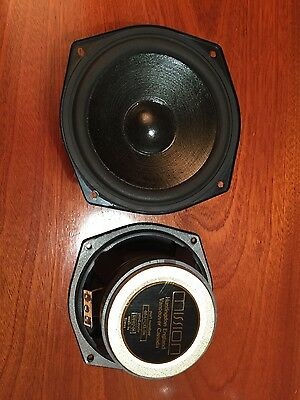 Mission Woofers - 60-LFC13/BK - Pair - Used, perfect working order (tested)