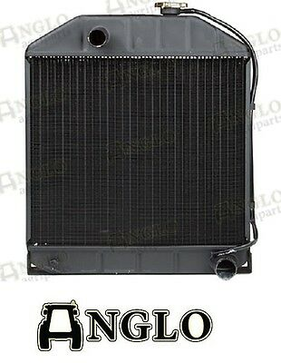 Ford New Holland 2000 3000 4000 2600 3600 4600 3910 Tractor Radiator - 4 Row