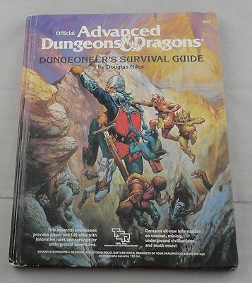 Advanced Dungeons & Dragons AD&D Dungeoneer's Survival Guide AD&D TSR2019