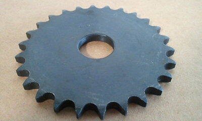 "40A26  Flat Plate ""A"" Sprocket #40 Chain 26 Tooth 1"" Stock Bore / Lot Of 2"