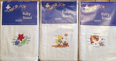 Junior Joy Baby towel embroidery 2 For £4