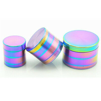 52mm 4 Layers Zinc Alloy Tobacco Herb Spice Smoke Grinder Crusher Hand Muller