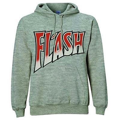Queen - Flash Logo Pullover Hoody Sweatshirt With Pocket - New & Official