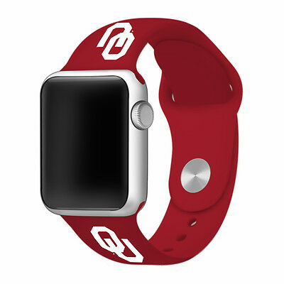 University of Oklahoma Sooners Watch Band Fits Apple Watch 38mm